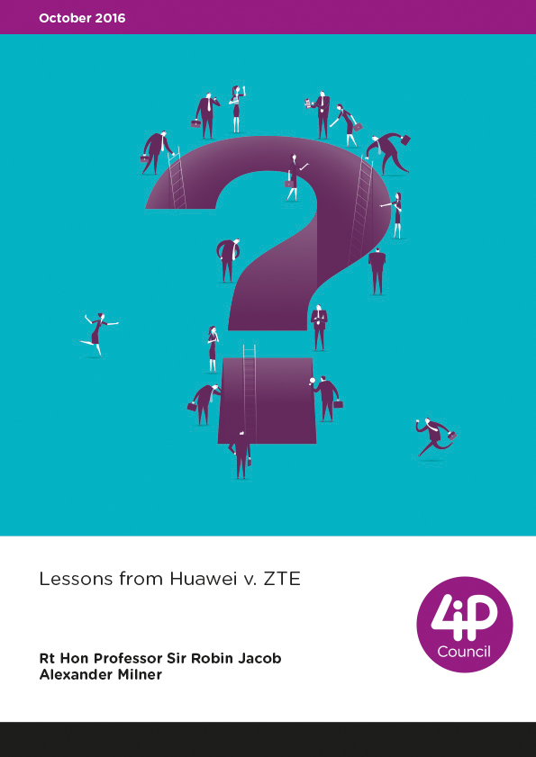 Lessons from Huawei v. ZTE