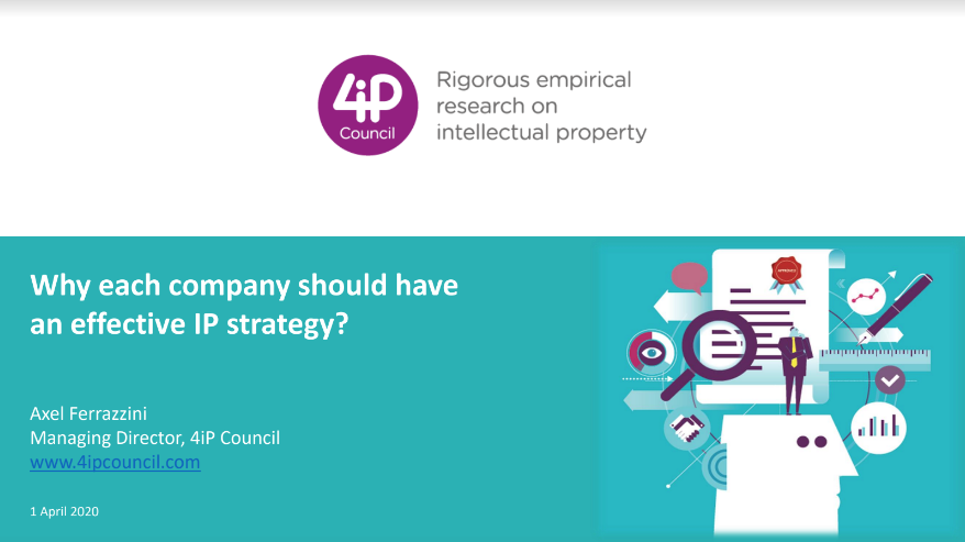 Why each company should have an effective IP strategy