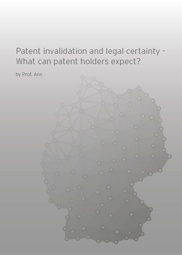 Patent invalidation and legal certainty