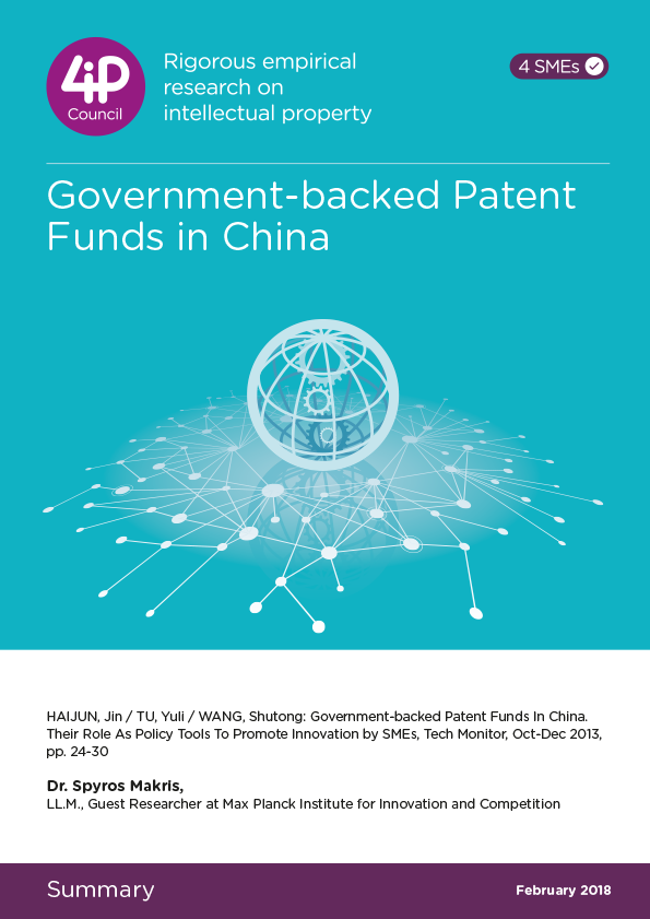 Government-backed Patent Funds in China