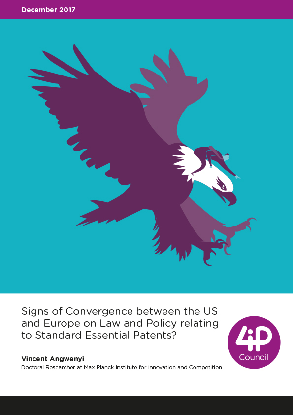 Signs of Convergence between the US and Europe on Law and Policy relating to Standard Essential Patents?