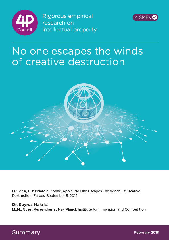 No one escapes the winds of creative destruction