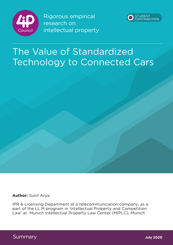 The Value of Standardized Technology to Connected Cars