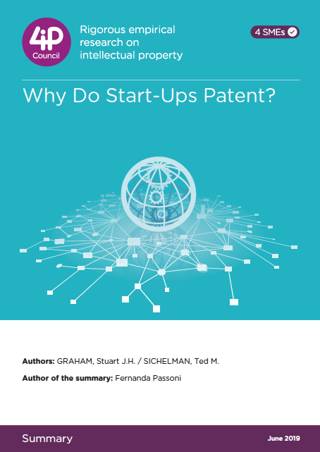 Why Do Start-Ups Patent? (2008)