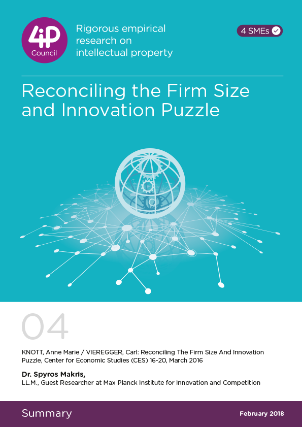 04 - Reconciling the Firm Size and Innovation Puzzle