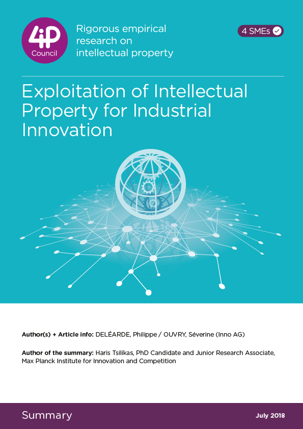 Exploitation of Intellectual Property for Industrial Innovation (IPI)