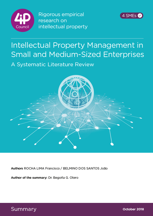 Intellectual Property Management in Small and Medium-Sized Enterprises
