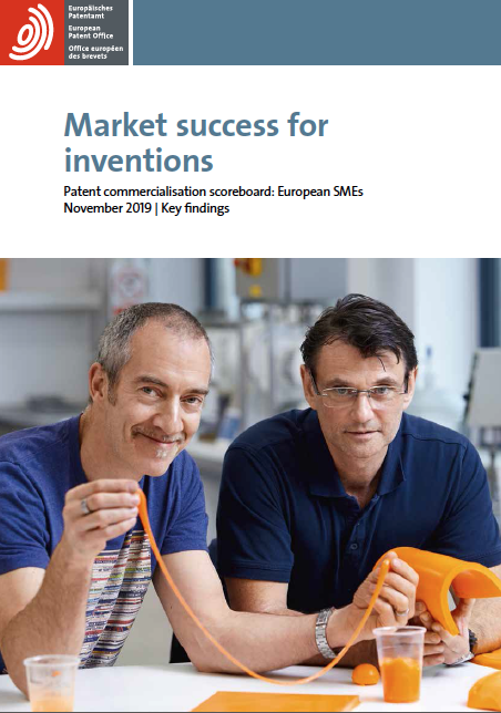 Market success for inventions - Patent Commercialisation Scoreboard: European SMEs (Key findings)