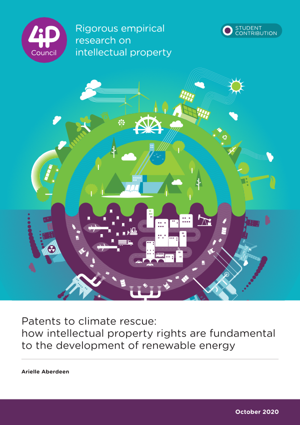 Patents to climate rescue: how intellectual property rights are fundamental to the development of renewable energy