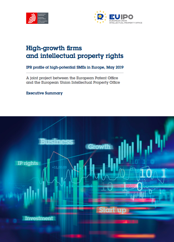 High-growth firms and intellectual property rights. IPR profile of high-potential SMEs in Europe, May 2019