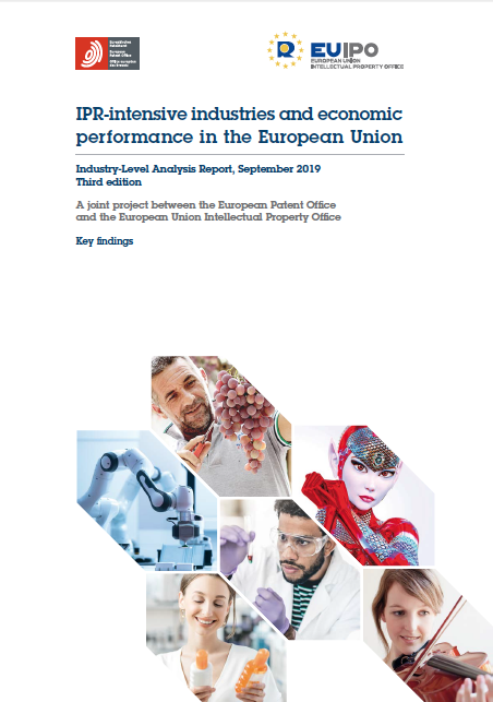 Key findings - Intellectual property rights intensive industries and economic performance in the European Union. (September 2019)