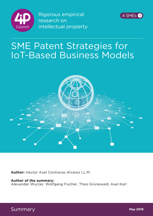 SME Patent Strategies for IoT-Based Business Models