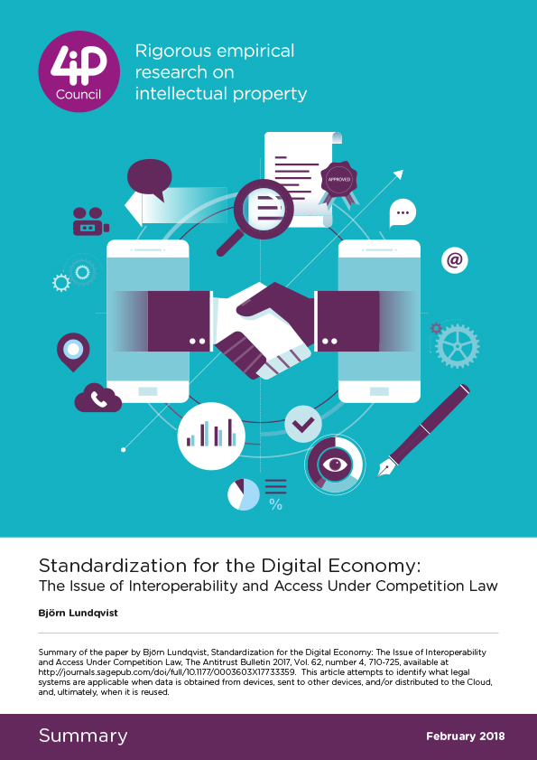 Standardization for the Digital Economy: The Issue of Interoperability and Access Under Competition Law