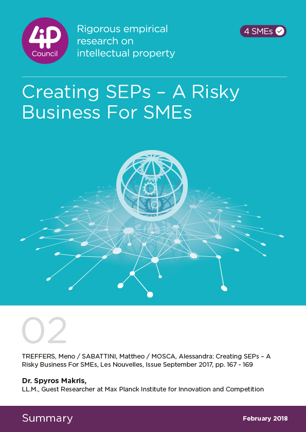 02 - Creating SEPs - A Risky Business For SMEs