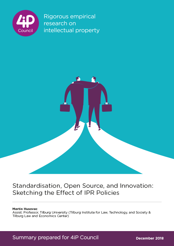 Standardisation, Open Source, and Innovation: Sketching the Effect of IPR Policies