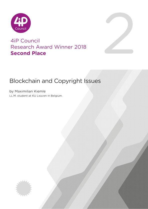 Blockchain and Copyright Issues