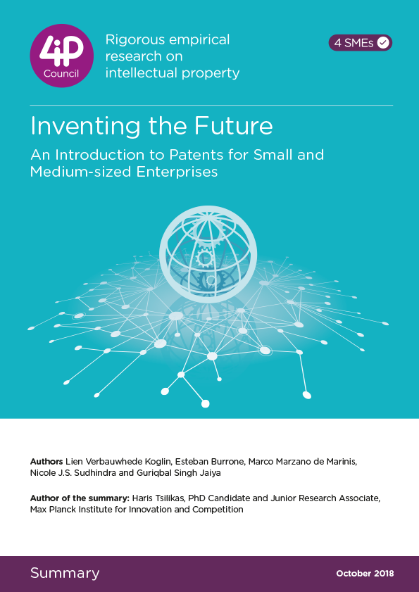Inventing the Future: An Introduction to Patents for Small and Medium Enterprises - Summary